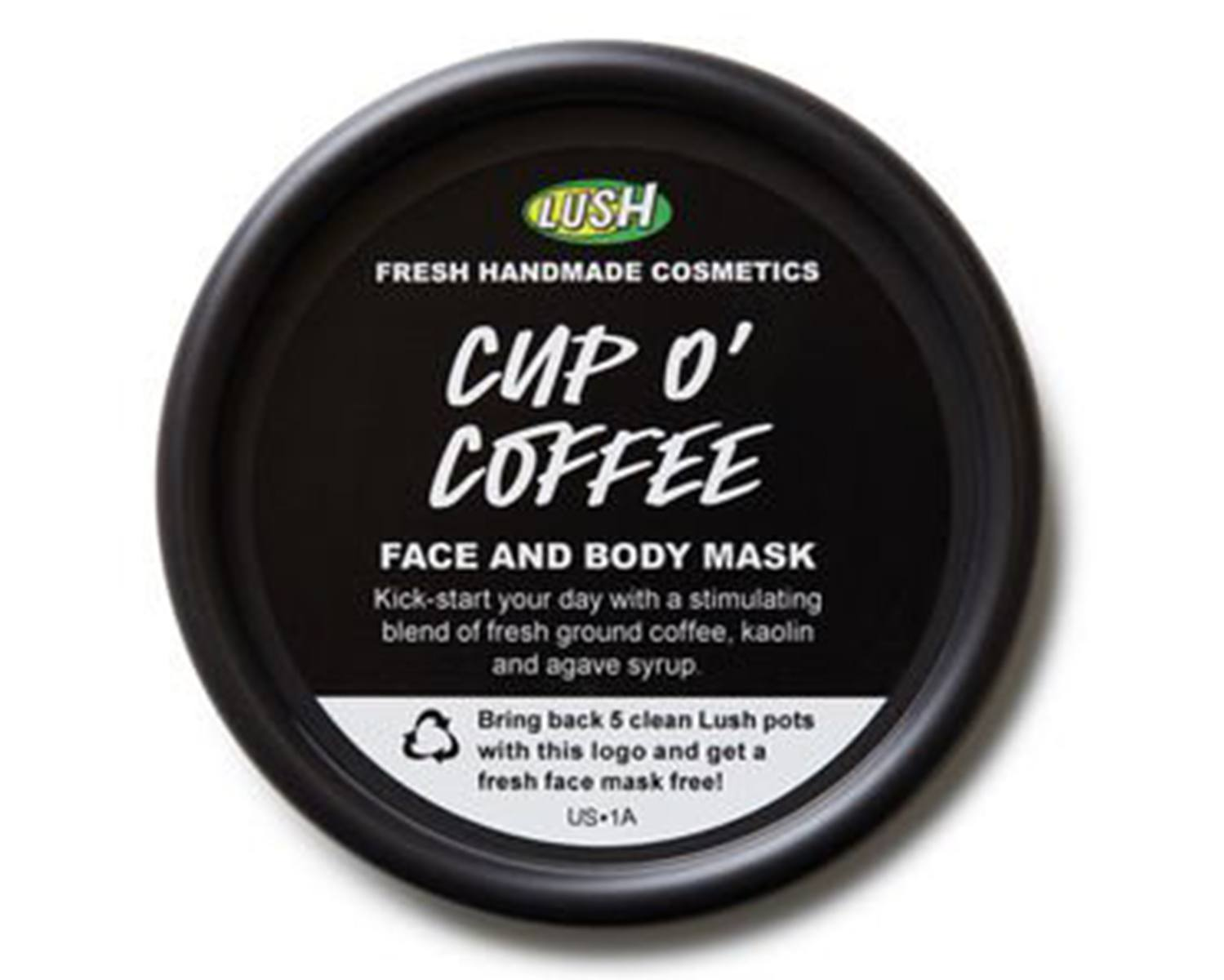 LUSH Cup O Coffee Face and Body Mask