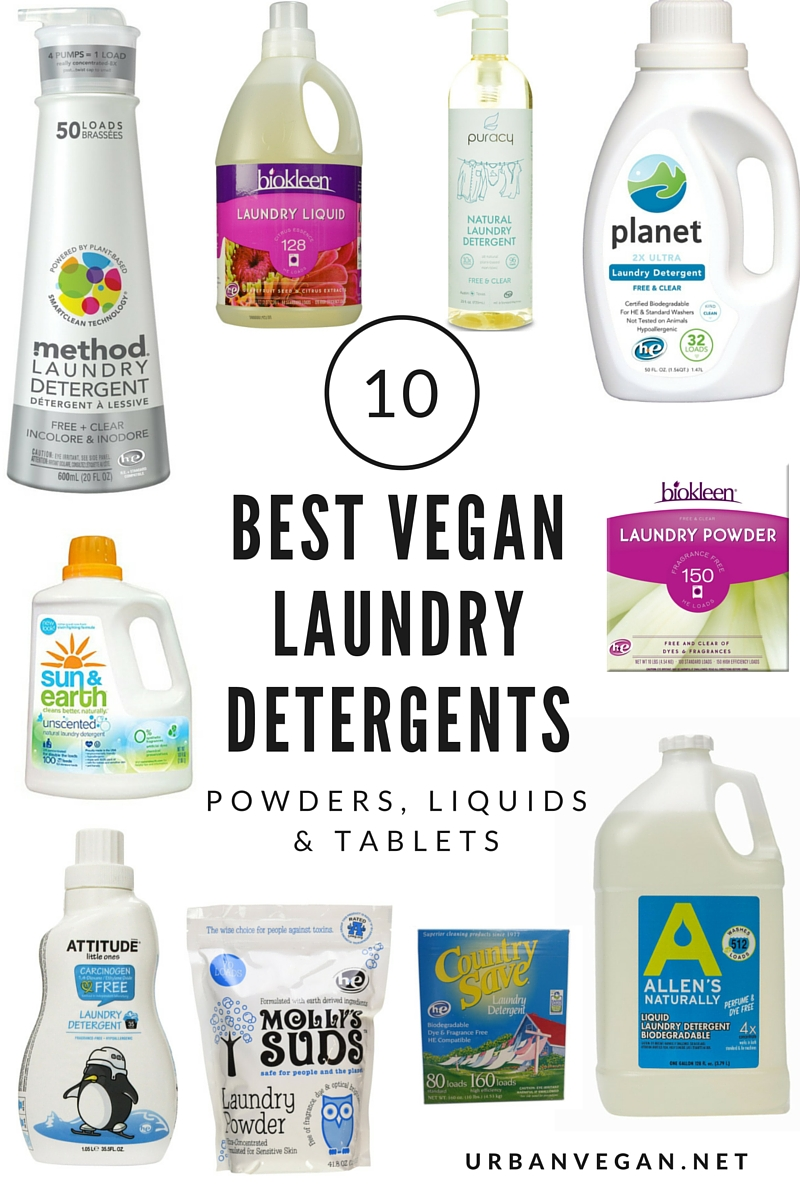 10 Best Natural Vegan Laundry Detergents Powders Amp Liquids