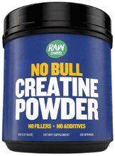 Raw Barrel's - Pure Creatine Monohydrate Powder