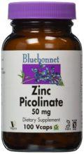BlueBonnet Zinc Picolinate Vegetarian Capsules