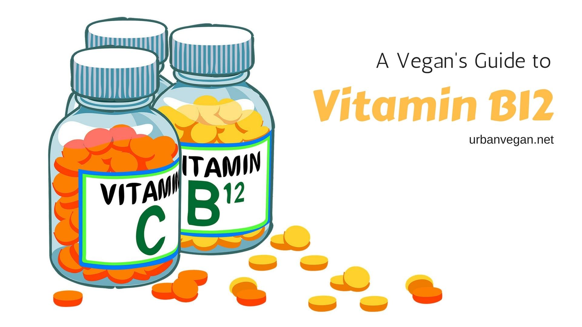 A Vegans Guide To Vitamin B12