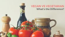 Vegan vs Vegetarian