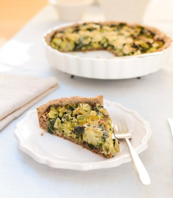 Soy-Free Vegan Quiche