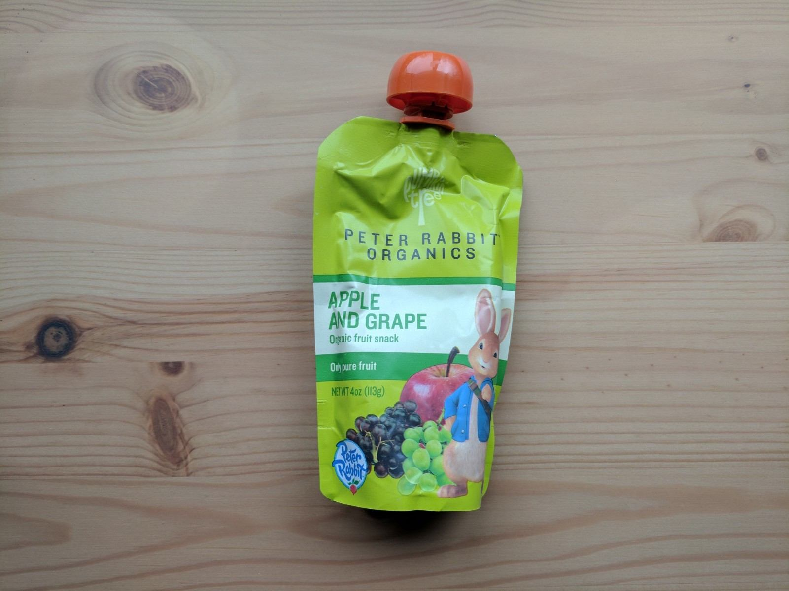Peter Rabbit Organics Apple Fruit Snack