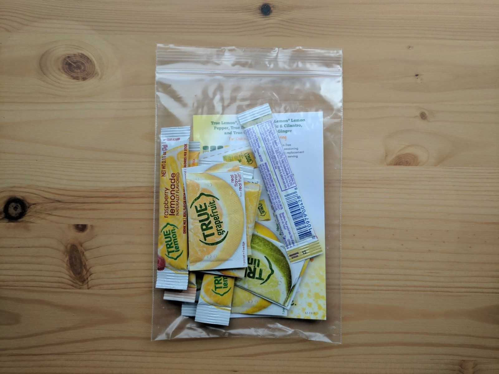 True Lemon Packets